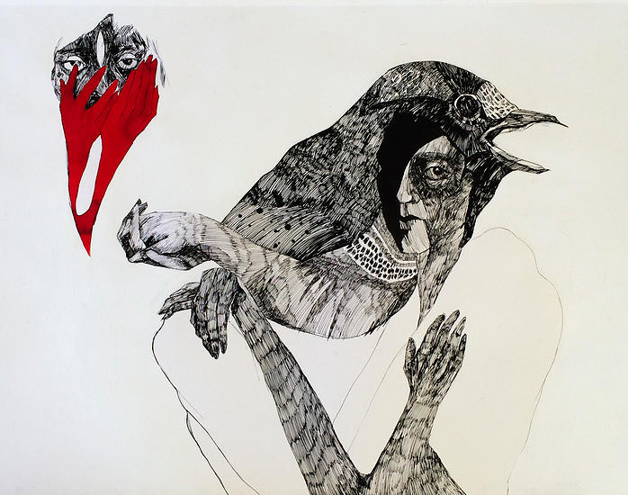 100x70 Ink on paper 2014